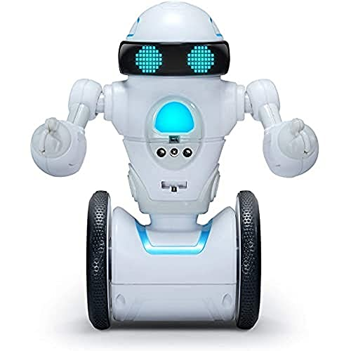 WowWee MiP Arcade - Interactive Self-Balancing Robot - Play App-Enabled or Screenless Games with RC, Dancing & Multiplayer Modes - Includes Tray & Basketball Accessories - for Kids Ages 6 & Up (842)