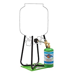 Flame King Refillable 1 lb Empty Propane Cylinder Tank –...