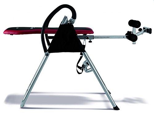 BH Fitness Zero Table d'inversion Mixte Adulte, Noir/Rouge