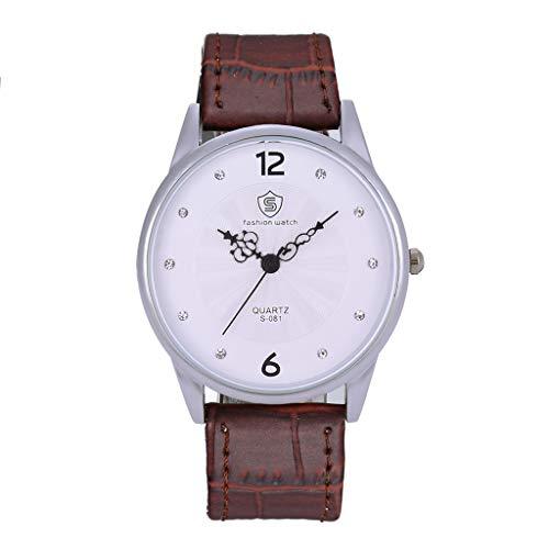 UINGKID Collection Unisex-Armbanduhr Frauen Einzelne Legierung Quarz Uhr Damen Diamond Luxusuhr