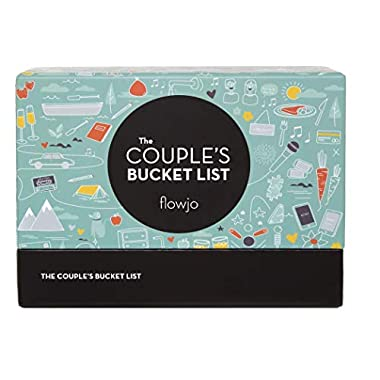 The Couples Bucket List, 100 Date Night Idea Cards - Cute Couples Gifts for Wife or Girlfriend - Unique Mother's Day Gift- Best Gifts for Weddings & Bridal Shower.
