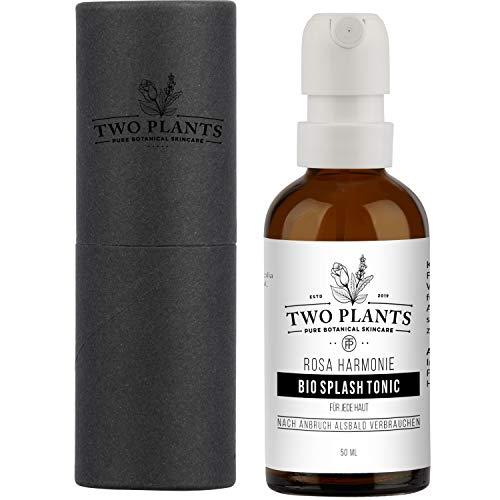 Bio Gesichtswasser Rosa Harmonie für empfindliche Haut   NATURE & NOTHING ELSE - 100% natürlich   Rosenwasser mit Lavendel   Feuchtigkeitsspendendes Veganes Tonic