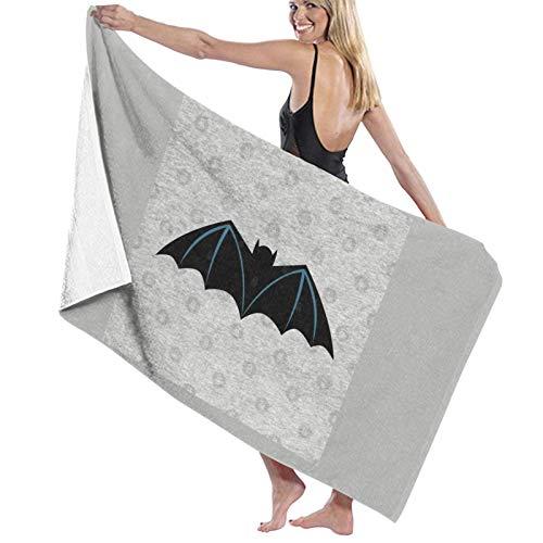 U/K Toalla de baño de Batman #1 de secado rápido