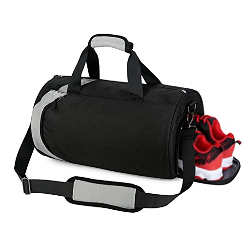 Tamaño Unisex 43 × 24 × 24 Cm Bolsa De Viaje A Prueba De Agua Separada Seca Y Húmeda, Maleta, Bolsa De Viaje Plegable, Bolso Adecuado para Viajes Y Fitness (Color : Style G)