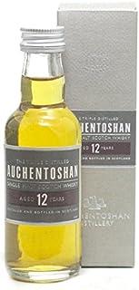 Auchentoshan 12 Jahre Single Malt Scotch Whisky Miniatur 0,05l inkl. Geschenkpackung