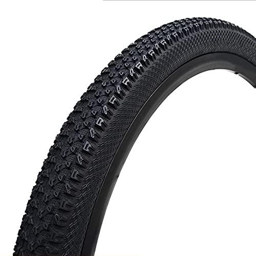 FYYTRL 26x1.95 Neumático de Repuesto para Bicicleta, Negro, para Bicicleta de montaña, General, Apto para Bicicletas de montaña y de Carretera,27.5x1.75