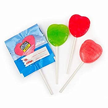 Mother s Day Jolly Rancher Candy Heart Shaped Lollipops  30 pcs  - To and From Exchange - Assorted Flavors
