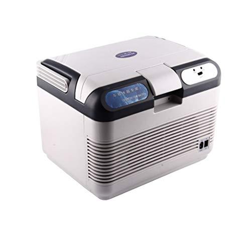 IF.HLMF Kühlbox Auto-Kühlschrank, tragbar, Kleiner Kühlschrank, Mini-Kühlschrank, Dual-Core, Auto-Heizung, 12 V/220 V