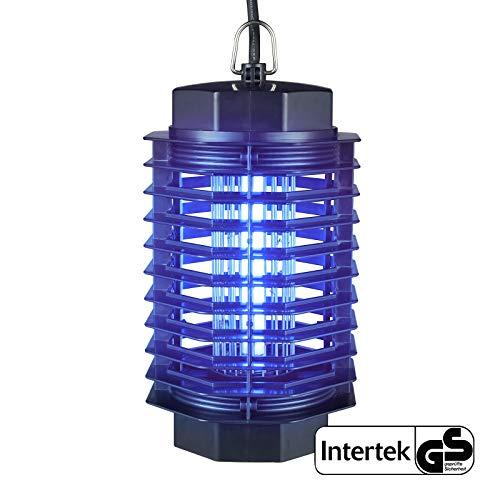 Gardigo - Lampara Mata-Insectos Electrico Mata Moscas; con Luz Ultravioleta Anti-Polillas, Zancudos,...