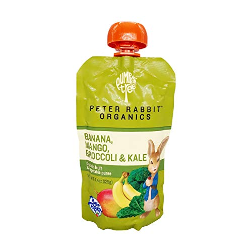 Peter Rabbit Organics Baby Kale Broccoli Mango, 4.40 oz