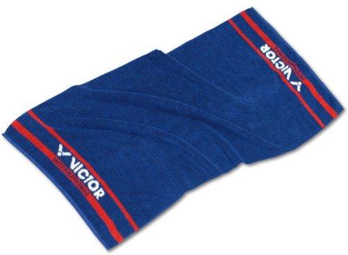 VICTOR Sport Handtuch–Blau/Rot