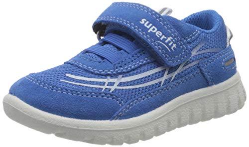Superfit Baby Jungen SPORT7 Mini Lauflernschuhe, Blau (Blau 81), 28 EU