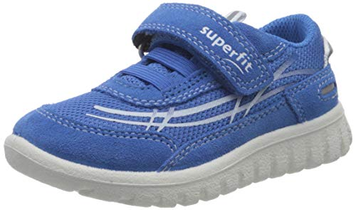 Superfit Unisex Kinder SPORT7 Mini Sneaker, Blau (Blau 81), 32 EU