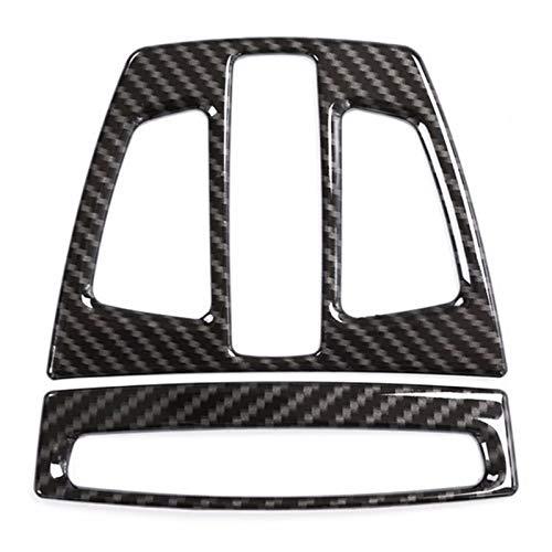 SODIAL Fibre De Carbone pour BMW X1 F48 2017 X5 F15 X6 F16 3 Série F30 GT F34 Réparation De Couverture De Lampe De Lectrue Avant Intérieur De Voiture pour BMW X2 F47