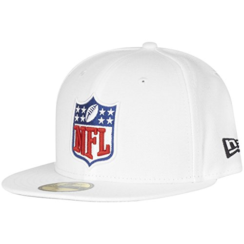 New Era 59Fifty Fitted Cap - NFL Shield Referee weiß - 7 1/4