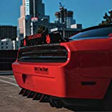 Challenger Rear Diffuser Kit 5 Piece V2 SXT SRT RT Hellcat 2009-2014