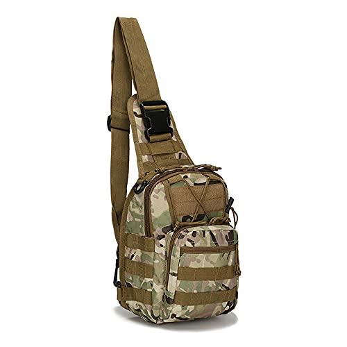 JJBKT Al aire libre doble hombro militar bolsa deportes montañismo mochila doble hombro táctico senderismo camping mochila, Hombre, 3076431218, CPMC, 20 (largo)