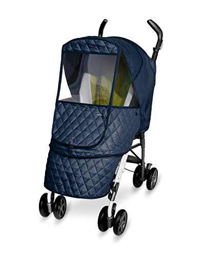 Manito Castle Alpha Stroller Weather Shield (Navy)