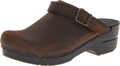 Dansko Women's Ingrid Open-Back Clogs