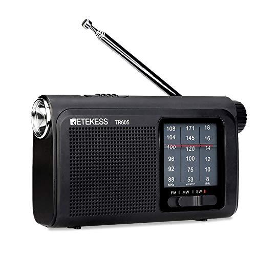 Radio Transistor A Pilas  marca Retekess