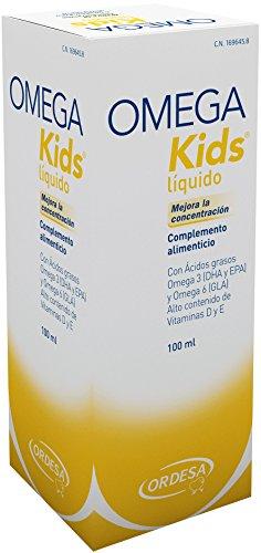 Ordesa Omegakids Liquido - 100 ml - El Omega-3 para tus hijos, 4ml al día.