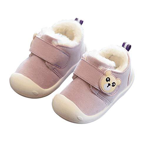 DEBAIJIA Zapatos para Niños 1-5T Bebés Caminata Zapatillas Suela Suave Transpirable Antideslizante Ligero TPR Material Cómodo Encantador