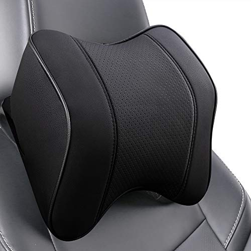 Raygis Car Headrest Pillow, Car Neck Support Pillow for Relieving Neck...