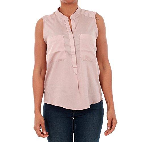 Vero Moda Camisa Mujer L Rosa 10192814 VMERIKA Mix S/L Shirt NFS SPHINKS
