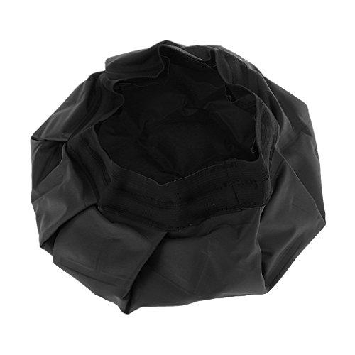 Sombrero De Aceite Caliente Cuidado De Nutrición Del Cabello Herramientas De Bricolaje Tratamientos Térmicos Fríos - Negro, 27 * 2.5cm (L * T)