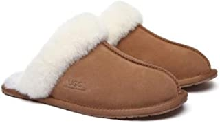 UGG Slippers Australia Premium Sheepskin Unisex Rosa Women's Scuff