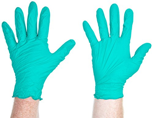 Kleenex 90093Kleenguard Sicherheit Handschuhe, G20, groß, Atlantic grün (250Stück)