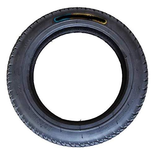 Neumáticos de scooter eléctricos, neumáticos de vacío 16x2.125 6PR, capa de tampón anti-apuñalamiento reforzado, aumentar el 70% de la vida, adecuado for la motocicleta de bicicleta eléctrica Neumátic