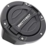 Smittybilt 正規品 ジープ JLラングラー 2ドア/4ドア 2018年以降現行 Billet ガスカバー/フューエルドア テクスチャーブラック