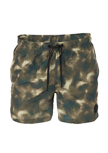 Joop! Heren zwemshort Coconut Beach - zwembroek, jeans logo, patroon