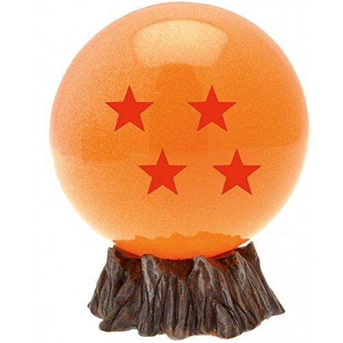 Plastoy Cristal Bola 4 Estrellas Mini Hucha 10 cm PVC Dragon Ball, Multicolor (PLY00080060)