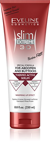 Eveline Cosmetics Slim Extreme 3D Thermoaktives Serum, 1er Pack (1 x 250 ml)