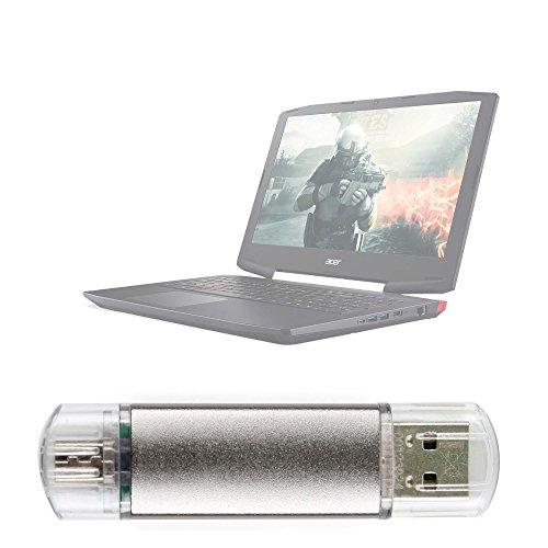 DURAGADGET Pendrive USB 2.0 con conexión USB y Micro USB -...