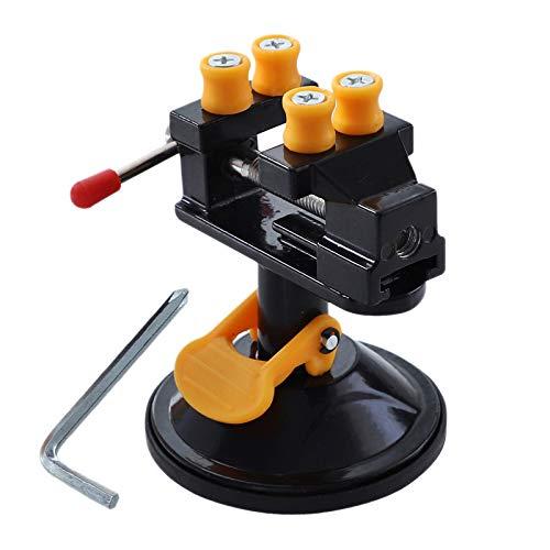 ACAMPTAR Abrazadera de Tornillo de Mesa PortáTil para Trabajo PequeeO Hobby Jewelry Diy Craft Repair Tool Mesa de Trabajo Bench Vise Tool Vice