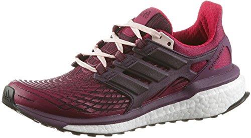 adidas Damen Energy Boost Laufschuhe, Mehrfarbig (Mystery Ruby F17/red Night F17/icey Pink F17), 36 2/3 EU