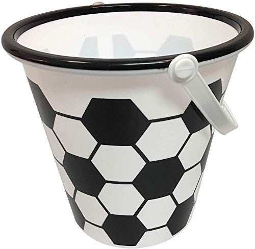 Halloween Soccer Bucket - Sports basket for treats or toys