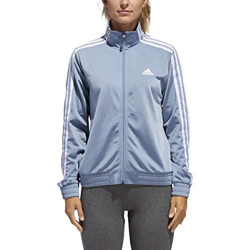 adidas Womens Essentials Tricot Track Jacket XL Grey