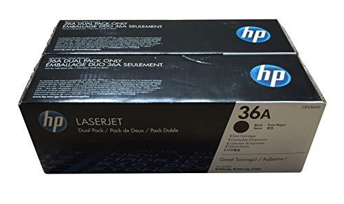 HP CB436AD - CB436AD 36A 2k Black Toner Dual Pack