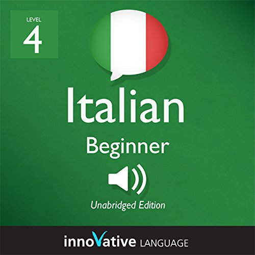 Learn Italian - Level 4: Beginner Italian, Volume 2: Lessons 1-20  By  cover art
