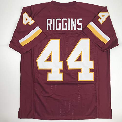 Unsigned John Riggins Washington Burgundy Custom Stitched Football Jersey Size XL New No Brands/Logos