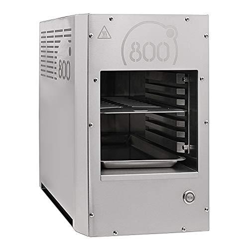 intergrill 800° Grill Pure Elektogrill Indoor Küche Steakgrill Hochleistungsgrill 12kg Profi Qualität