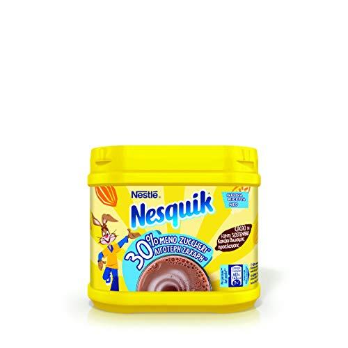 Nesquik 30% Meno Zuccheri Cacao Solubile per Latte Barattolo 350 g