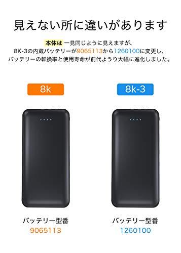モバイルバッテリー10000mAh新版大容量3ケーブル内蔵(Lightning+MicroUSB+TypeC)軽量薄型急速充電スマホ充電器携帯バッテリー持ち運び便利4台同時充電でき残量表示スタンド機能搭載防災グッズPSE認証済iPhone/iPad/Android対応