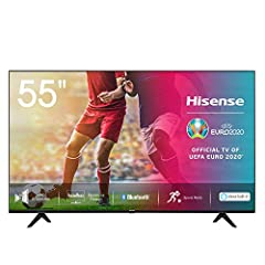 Hisense 55AE7000F 139 cm (55 pouces) Tv (4K Ultra HD, HDR, Triple Tuner DVB-C/S/S/T/T2, Smart TV, Frameless, Bluetooth, Alexa)