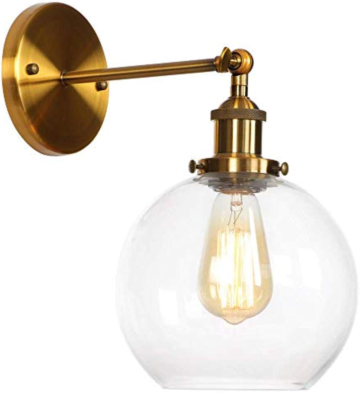 Amerikanischen Stil Retro Wandleuchte Mode Lampen Einstellbare Lenkkopf Nodic Kreative Dekoration Wohnzimmer Schlafzimmer Lichter Wandleuchte, Gold