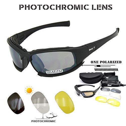 Daisy X7 - Gafas Sol polarizadas tácticas Hombre